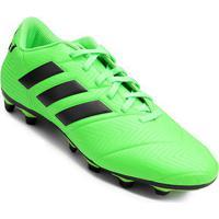 83d5303cf8fe8 Netshoes; Chuteira Campo Adidas Nemeziz Messi 18 4 Fg - Unissex