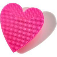 Esponja De Limpeza Océane Heart Sponge - Feminino-Pink