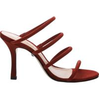 Mule Strings Nobuck Red | Schutz