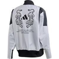 Blusão E Jaqueta Adidas M Vrct Oversize Branco
