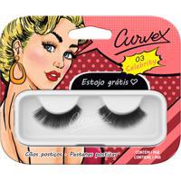 Cílios Postiços - Curvex - Linha Celebrity - 03 - Preto