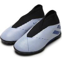 Chuteira Adidas Performance Menino Nemeziz 19 3 Lac Tf Jr Azul/Branca