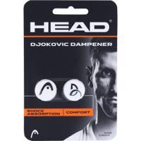 Antivibrador Head Djokovic Dampner - 2 Unidades - Branco/Preto