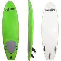 Prancha De Surf 5.8 Mini Fun Brasil Natural Azul Verde Limão/Branco