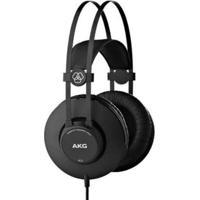 Fone Profissional Akg K52 Over Ear Fechado Estudio Gravação - Unissex-Preto