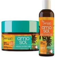 Yenzah Amo Sol Kit - Leave-In + Máscara Ultra Hidratante