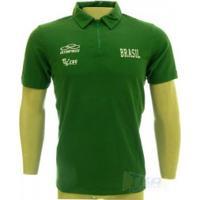 Camisa Olympikus Cbv Polo Masculina Viagem Sn Vrd - Olympikus