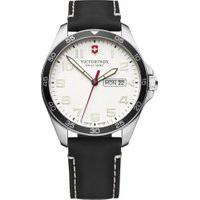 Relógio Victorinox Swiss Army Masculino Couro Preto - 241847