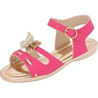 Sandália Bebê Plis Calçados Alegria Feminina - Feminino-Pink