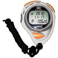 Cronômetro De Precisão Liveup Sports Ls3347 Branco/Laranja