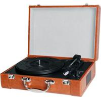 Toca Discos Goldship Cxr1503 Bt Nostalgic Marrom Bivolt