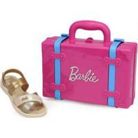 Sandália Infantil Grendene Barbie Bege