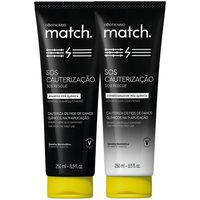 Combo Match Sos Cauterização Pós-Química: Shampoo 250Ml + Condicionador 250Ml