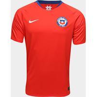 4236dd21f4 Camisa Feminina Nike Seleção Portugal Home. Camisa Seleção Chile Home 2018  S N° Torcedor Nike Masculina - Masculino