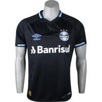 Camisa Umbro Grêmio Oficial 3 Torcedor 2018/19