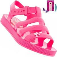 Sandália Infantil Barbie Dreamhouse Feminina + Brinde - Feminino-Rosa