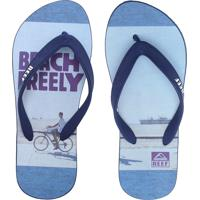 Chinelo Reef Switchfoot Bf Picture Azul
