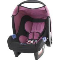 Bebê Conforto Burigotto Touring Evolution Se - Unissex-Preto+Rosa
