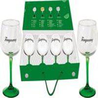 Maleta Com 4 Pecas Para Gin Tanqueray 600Ml Global