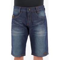 Bermuda Jeans Hd New Classic Marinho
