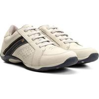 Sapatênis Couro West Coast Parker Masculino - Masculino-Gelo