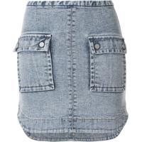 Manning Cartell Saia Jeans Major Key - Azul