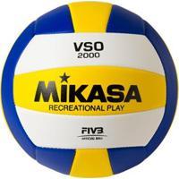 Bola Vôlei Mikasa Vso2000 - Ama/Roy Un - Unissex