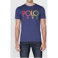 Camiseta Polo Ralph Lauren 1992 Azul-Marinho