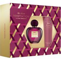 Kit Perfume Her Secret Temptation Eau De Toilette 80Ml + Body Lotion 75Ml