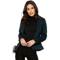 Blazer Planet Girls Texturizado Azul
