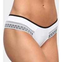 Calcinha Liz Sport Deluxe - Feminino-Branco