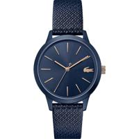 Relógio Lacoste Feminino Couro Azul - 2001091