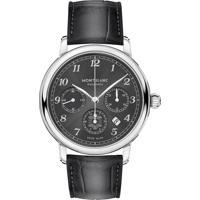 Relógio Montblanc Masculino Couro Preto - 118515