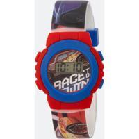 Relógio Infantil Carros Digital