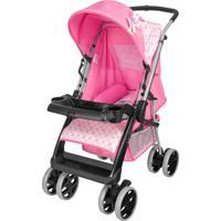 Carrinho De Bebê Reversivel Tutti Baby Thor Rosa