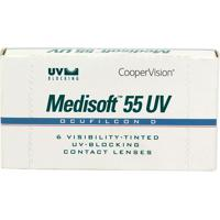 Lente De Contato Medisoft 55 Uv Incolor -3,25 Incolor