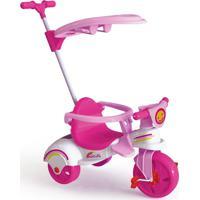 Triciclo Xalingo Multi Care Girl 3 X 1 Com Empurrador - Pedal - Rosa - 7601 - Rosa