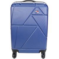 Mala De Viagem Corona- Azul Escuro- 56,5X35,9X23,5Cmsamsonite