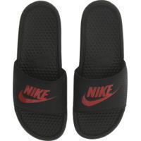 Chinelo Nike Benassi Jdi - Slide - Masculino - Preto/Vermelho