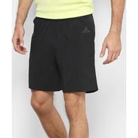 Short Adidas Response 7 Pol. Masculino - Masculino-Preto