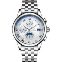 Relógio Tevise 9008G Masculino Pulseira Aço - Branco