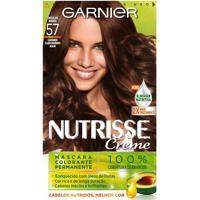 Tintura Nutrisse Creme N° 57 Chocolate Amargo Garnier 1 Unidade
