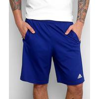 Short Adidas Comm Masculino - Masculino-Azul
