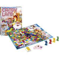 Jogo De Tabuleiro Candy Land - Unissex-Incolor
