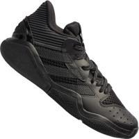 Tênis Adidas Harden Stepback - Masculino - Preto/Cinza Esc