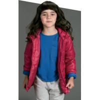 Jaqueta Infantil Essencial Com Capuz - Unissex [] []
