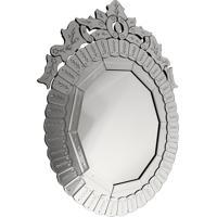 Espelho Decorativo Veneziano Oval Rovigo