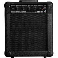 Amplificador Para Contrabaixo 8 Pol 18W Rms Auburn Music Bx200 Preto