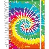 Agenda Planner Jandaia Espiral Capa Dura Le Estampada Feminina 160 Folhas Modelo 3