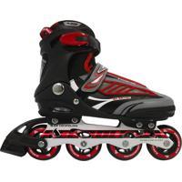 Patins Roller Bel Sports Inline B Future 7000 Tam 39 Vermelho